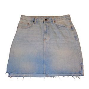 H&M Cutoff Jean Skirt